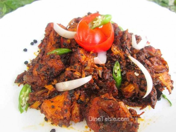 Chettinad Pepper Chicken / Tasty