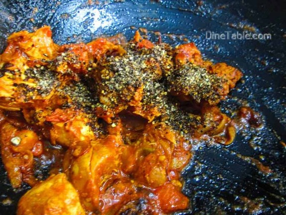 Chettinad Pepper Chicken / Chicken Recipe
