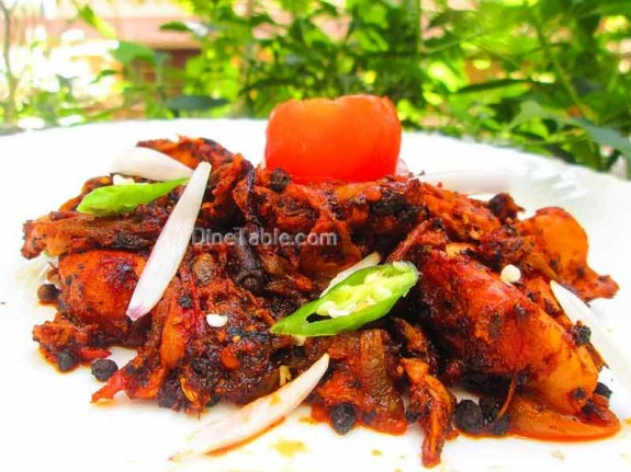 Chettinad Pepper Chicken / Yummy