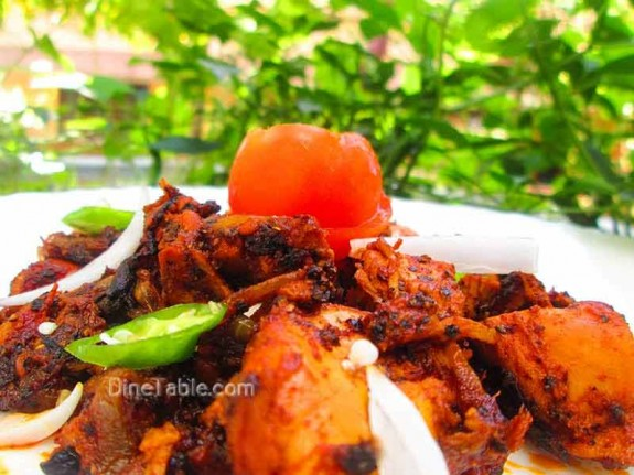 Chettinad Pepper Chicken / Homemade