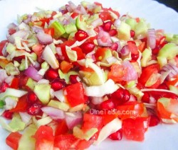 Cucumber and Tomato Salad / Healthy Salad