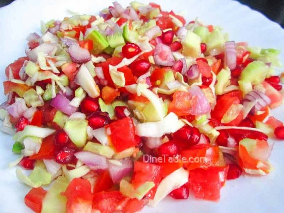 Cucumber and Tomato Salad / Healthy Salad