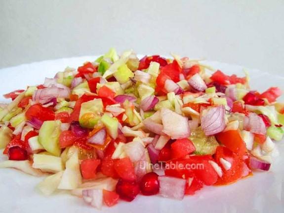 Cucumber and Tomato Salad / Quick Salad