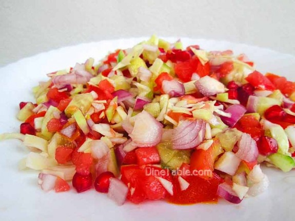 Cucumber and Tomato Salad / Tasty Salad