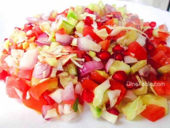Cucumber and Tomato Salad / Easy Salad