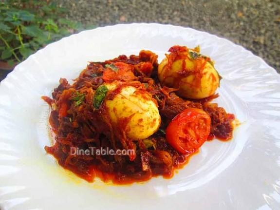 Egg Roast / Kerala Side Dish
