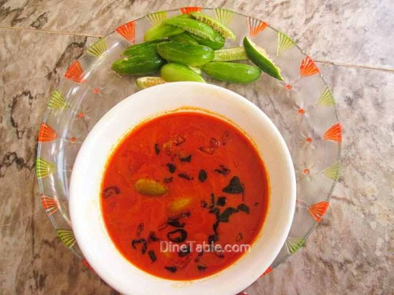 Kovakka (Ivy Guard) Curry Recipe / Vegetarian Curry
