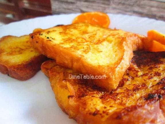 Orange French Toast / Evening Snack