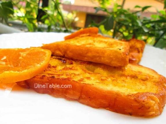 Orange French Toast / Simple