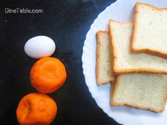 Orange French Toast / Quick Snack