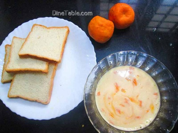 Orange French Toast / Kids Snack