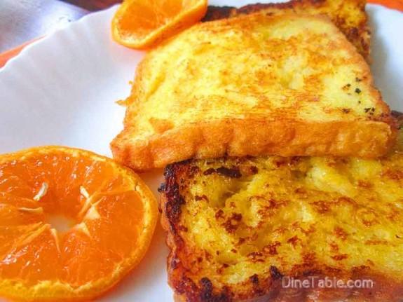 Orange French Toast / Delicious Snack