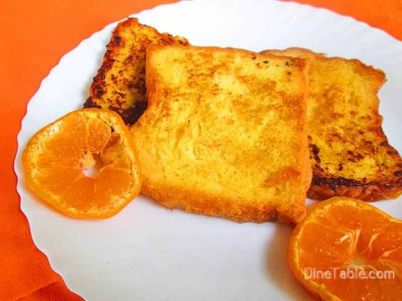 Orange French Toast / Healthy Snack