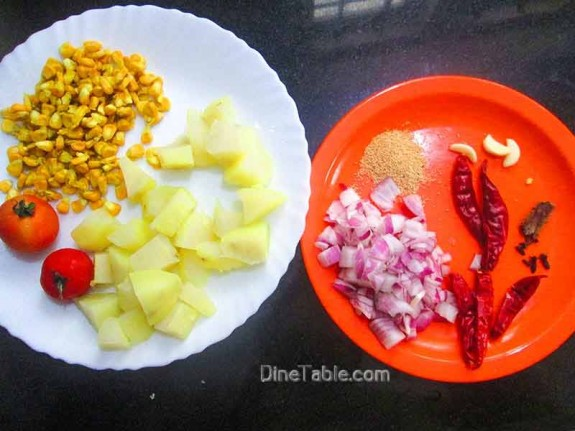 Potato and Corn Peralan / Homemade Recipe