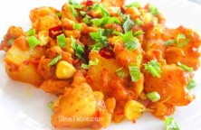 Potato and Corn Peralan / Vegetarian Recipe