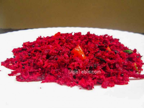 Beetroot Thoran Recipe / Healthy