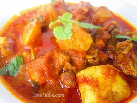 Chicken Potato Curry Recipe / Delicious Dish