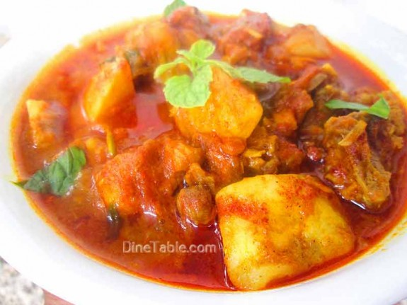 Chicken Potato Curry Recipe  / simple Dish