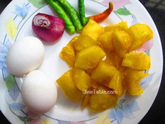 Kappa Egg Masala Recipe  / Easy Dish