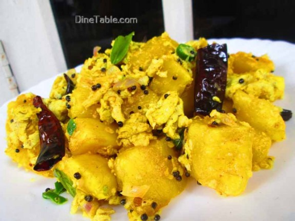 Kappa Egg Masala Recipe / Delicious dish