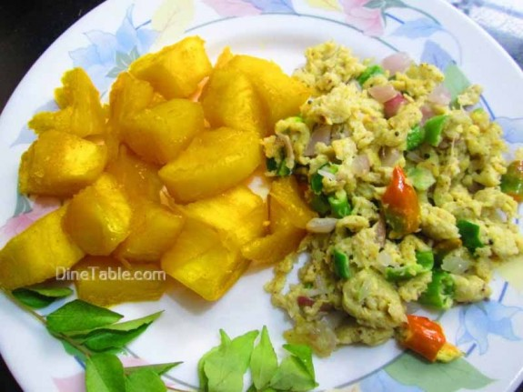 Kappa Egg Masala Recipe / Simple Dish