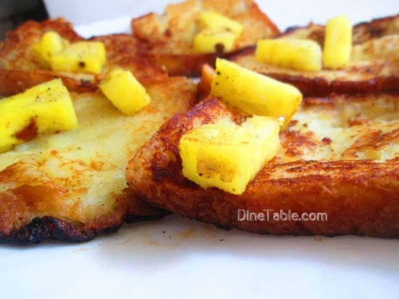 Pineapple French Toast / Quick Snack