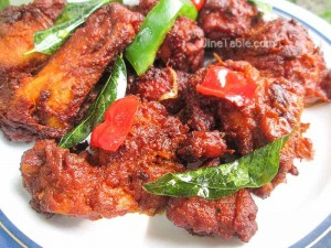 Spicy Chicken Fry Recipe