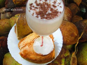 Tender Coconut Milkshake Recipe