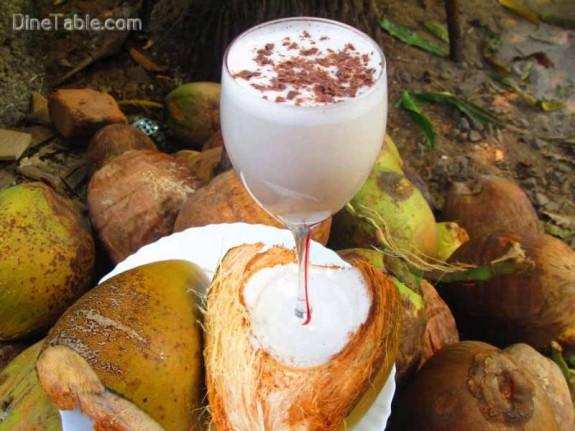 Tender Coconut Milkshake / Simple Shake