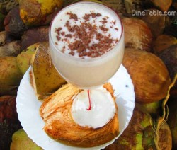Tender Coconut Milkshake / Easy