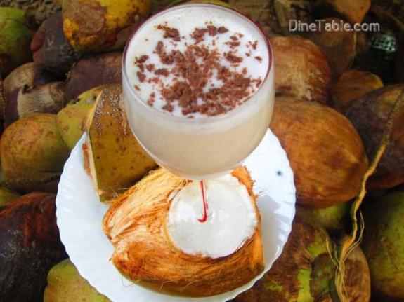 Tender Coconut Milkshake / Easy