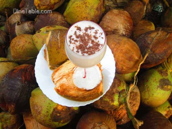 Tender Coconut Milkshake / Nutritious