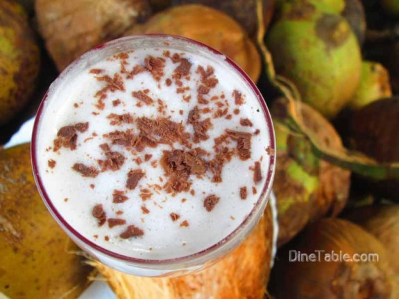 Tender Coconut Milkshake / Healthy