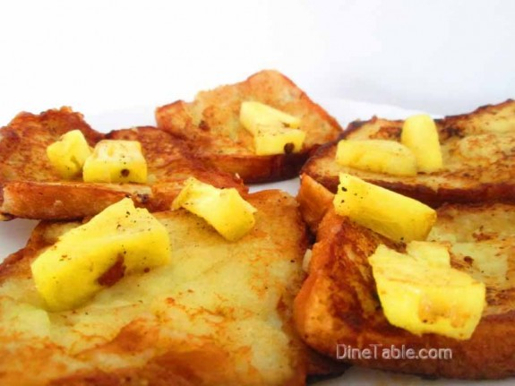 Pineapple French Toast / Simple