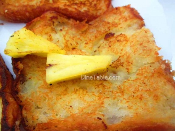 Pineapple French Toast / Tea Time Snack