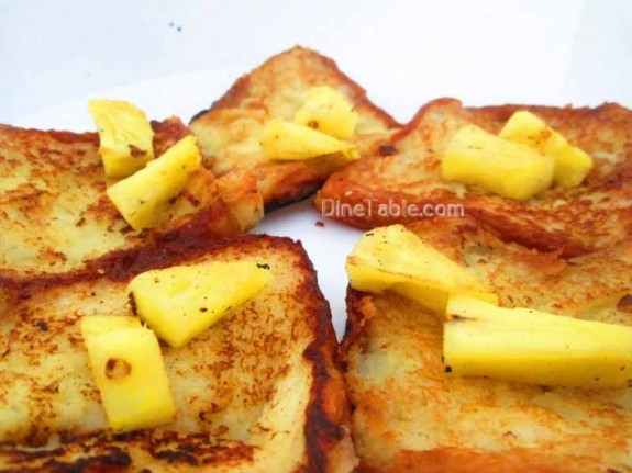 Pineapple French Toast / Pineapple Recipe