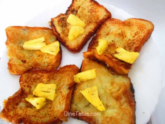 Pineapple French Toast / Yummy Snack