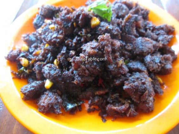 Beef Chukka Recipe / Easy Dish