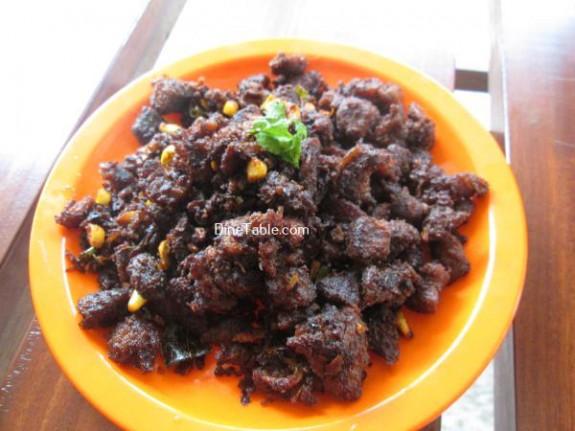 Beef Chukka Recipe / Simple Dish