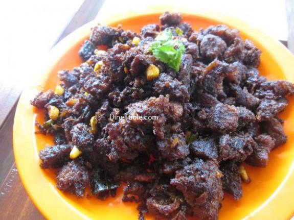 Beef Chukka Recipe / Beef Dish