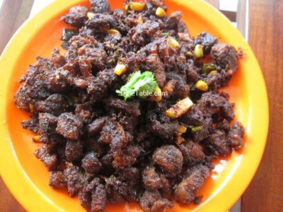 Beef Chukka Recipe / Fry Dish