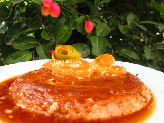 Caramel Custard Recipe / Dessert
