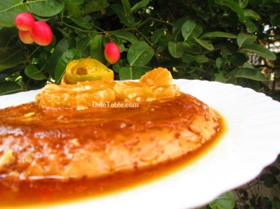 Caramel Custard Recipe / Sweet Dish