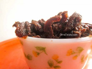 Dried Irumban Puli Pickle Recipe