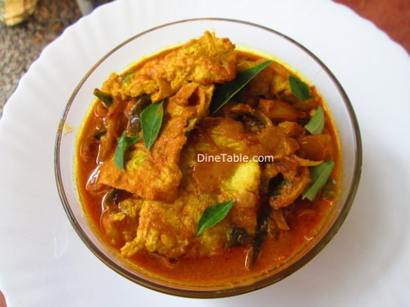 Egg Omelette Curry Recipe / tangy dish