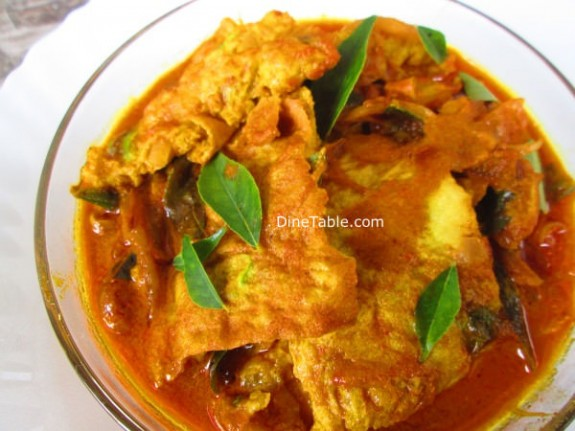 Egg Omelette Curry Recipe / simple dish