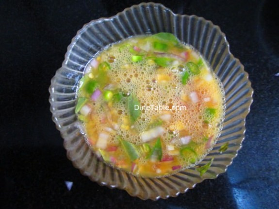 Egg Omelette Curry Recipe / side dish