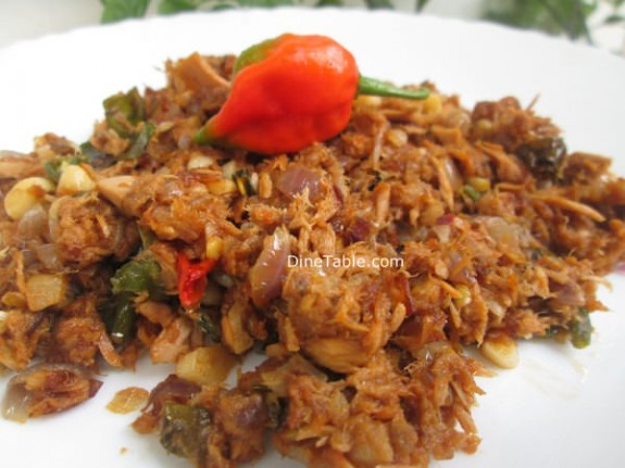 Kerala Style Canned Tuna Thoran Recipe / Non Vegetarian