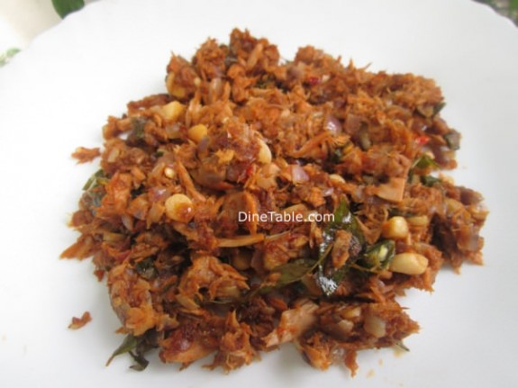 Kerala Style Canned Tuna Thoran Recipe / Healthy