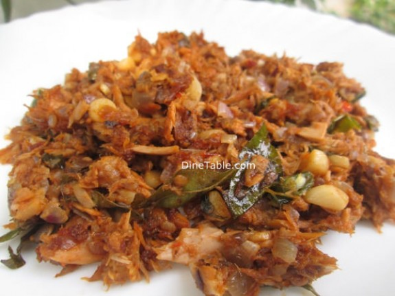 Kerala Style Canned Tuna Thoran Recipe / Fry